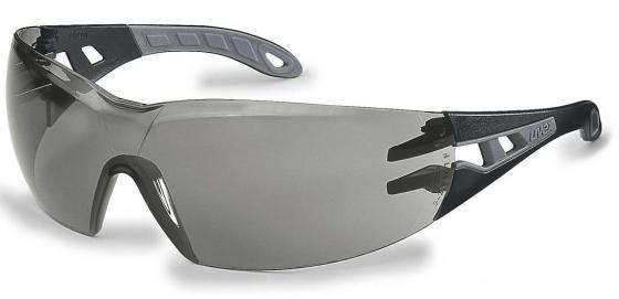 Очки открытые UVEX Феос 9192285 Supravision Excellence черно-серый