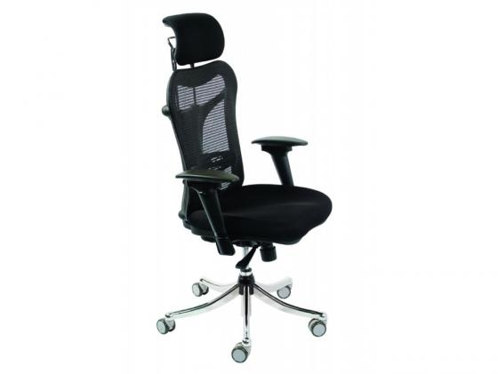 Кресло Buro CH-999ASX CH-999ASX спинка сетка эргономичная черный крестовина хром компьютерное кресло бюрократ ch 999asx black