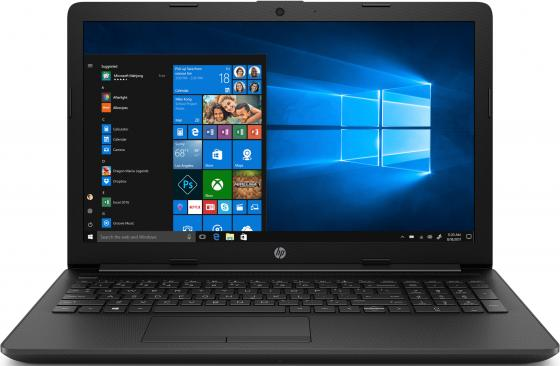 Ноутбук HP 15-da0399ur 15.6 1920x1080 Intel Pentium-4417U 500 Gb 4Gb Intel HD Graphics 610 черный Windows 10 Home 6PX48EA 15 6 ноутбук hp 15 ra151ur 3xy37ea черный