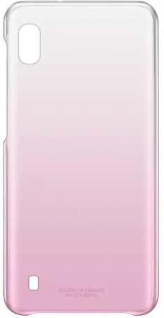 цена на Чехол (клип-кейс) Samsung для Samsung Galaxy A10 Gradation Cover розовый (EF-AA105CPEGRU)