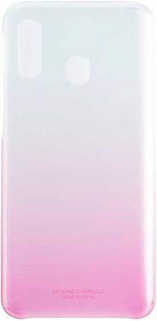 Чехол (клип-кейс) Samsung для Samsung Galaxy A40 Gradation Cover розовый (EF-AA405CPEGRU) цена и фото