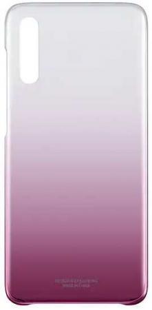 Чехол (клип-кейс) Samsung для Samsung Galaxy A70 Gradation Cover розовый (EF-AA705CPEGRU) клип кейс samsung gradation cover для samsung galaxy j4 2018 золотистый