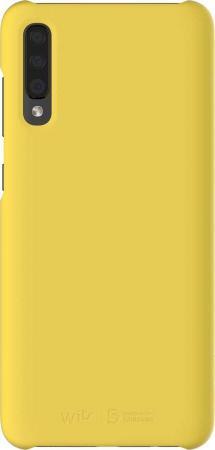 Чехол (клип-кейс) Samsung для Samsung Galaxy A70 Wits Premium Hard Case желтый (GP-FPA705WSAYW) чехол клип кейс samsung для samsung galaxy a70 wits premium hard case черный gp fpa705wsabw