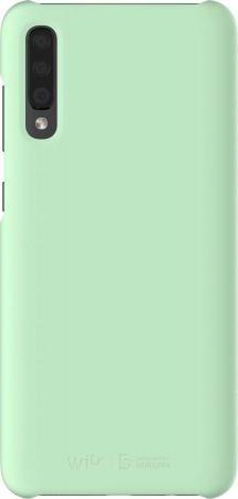 Чехол (клип-кейс) Samsung для Samsung Galaxy A70 Wits Premium Hard Case мятный (GP-FPA705WSAMW) чехол клип кейс samsung для samsung galaxy a70 wits premium hard case черный gp fpa705wsabw