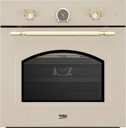 Духовой шкаф Электрический Beko OIE27207C кремовый все цены