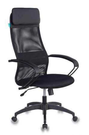 Кресло руководителя Бюрократ CH-608/BLACK чёрный кресло руководителя бюрократ ch 824b lgrey серый