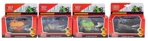 Мотоцикл ТЕХНОПАРК Спортбайк асорти 282927-R технопарк мотоцикл туризм цвет зеленый