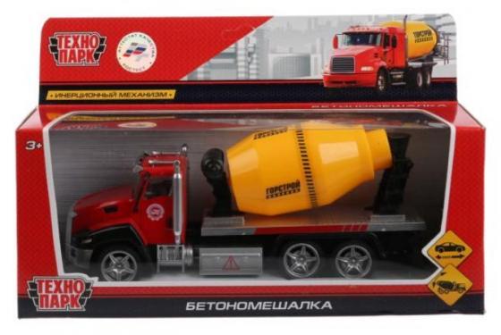 Бетономешалка ТЕХНОПАРК Бетономешалка 21 см красный технопарк бетономешалка технопарк