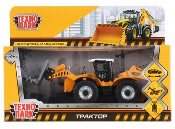 Трактор ТЕХНОПАРК Трактор 15 см цвет в ассортименте