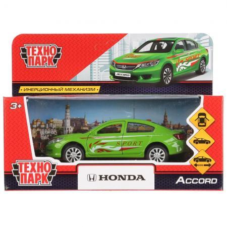 Машинка ТЕХНОПАРК Honda Accord Спорт зеленый