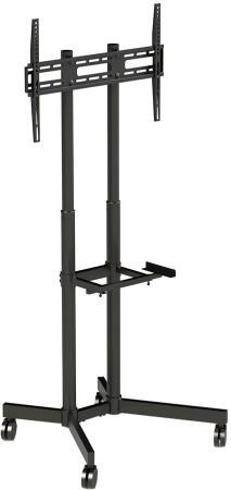Фото - Подставка для телевизора Arm Media PT-STAND-7 черный 32-80 макс.50кг напольный фиксированный кронштейн для телевизора arm media pt 100 черный 55 100 макс 80кг настенный фиксированный