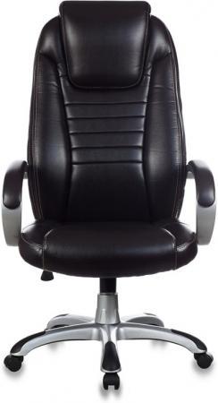 Кресло руководителя Бюрократ T-9923/BROWN-PU темно-коричневый NE-15 искусственная кожа кресло руководителя бюрократ ch 879dg brown коричневый искусственная кожа пластик темно серый