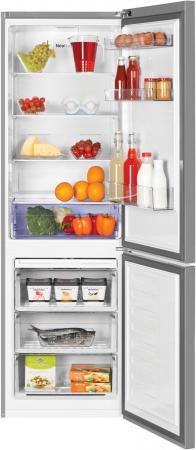 лучшая цена Холодильник Beko RCNK321E20S серебристый (двухкамерный)