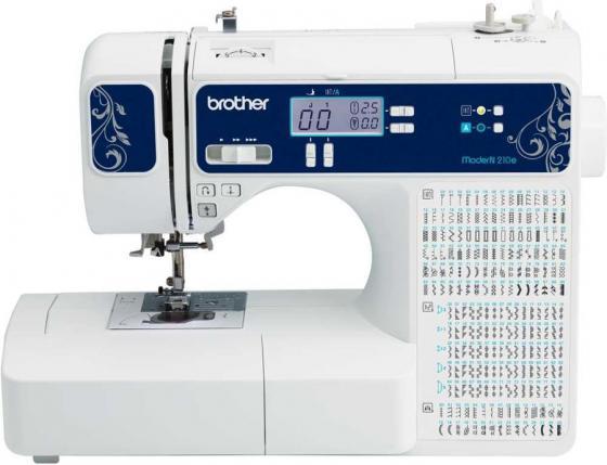 Швейная машина Brother ModerN 210e белый/синий
