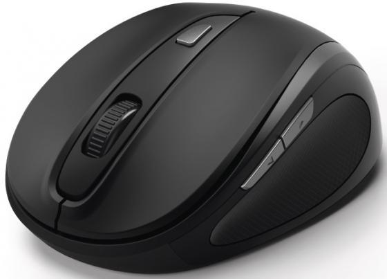 Мышь беспроводная HAMA MW-400 чёрный USB + радиоканал 00182626