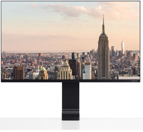 Монитор Samsung 31.5 S32R750UEI черный VA LED 16:9 HDMI полуматовая HAS 2500:1 250cd 178гр/178гр 3840x2160 Ultra HD 7кг монитор dell 24 p2415q 300cd 178гр 178гр 3840x2160 displayport ultra hd usb