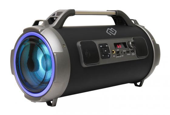 Колонка порт. Digma S-37 черный 30W 1.0 BT/USB (SP3730B) цена и фото