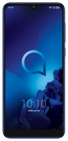 Смартфон Alcatel 3L 5039D 2019 синий 5.94 16 Гб LTE Wi-Fi GPS 3G Bluetooth 5039D-2BALRU2 смартфон huawei nova 2 синий 5 64 гб lte wi fi gps 3g 51091tnt