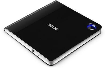 Внешний привод Blu-ray ASUS SBW-06D5H-U/BLK/G/AS USB черный Retail оптический привод blu ray asus bc 12d2ht внутренний sata черный ret [bc 12d2ht blk g as]