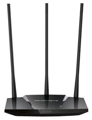 Беспроводной маршрутизатор Mercusys MW330HP 802.11bgn 300Mbps 2.4 ГГц 3xLAN черный цена и фото