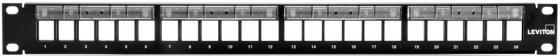 """лучшая цена Патч-панель наборная Brand-Rex 49255-L24 19"""" 1U 24xRJ45"""