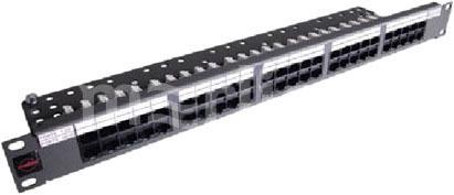 """лучшая цена Патч-панель Molex Lite PID-00234-04 19"""" 1U 24xRJ45 кат.5e UTP"""