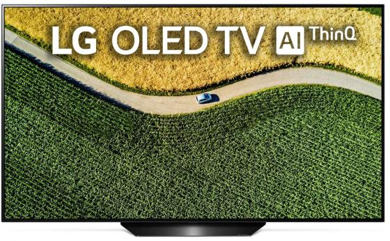 Телевизор OLED LG 55 OLED55B9PLA черный/серебристый/Ultra HD/50Hz/DVB-T/DVB-T2/DVB-C/DVB-S/DVB-S2/USB/WiFi/Smart TV (RUS) измеритель dvb s s2 сигнала galaxy innovations gi satf