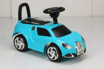 Каталка-машинка Наша Игрушка Блеск бирюза пластмасса/металл со звуком бирюзовый stellar игрушка каталка машинка цвет синий