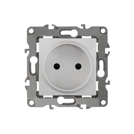 Розетка ЭРА 12-2105-01 2P, 16A-250В, IP20, Эра12, белый