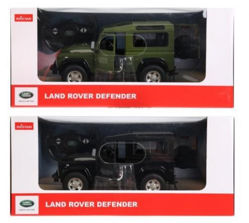 Машинка на радиоуправлении RASTAR land rover defender в ассортименте пластик