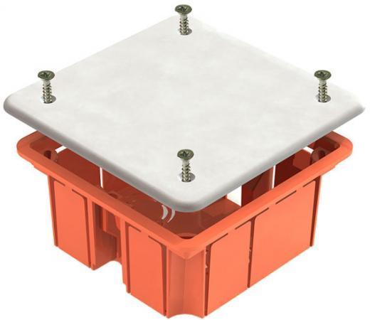 Коробка распаячная ТДМ SQ1403-1022 92х92х45мм крышка пл. лапки IP20 распаячная коробка с крышкой оп 240х195х165мм ip44 кабельные ввода d28 3шт d37 2шт tdm sq1401 1273