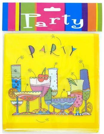 Набор салфеток бумажных PARTY, 33х33 см, 12 шт.