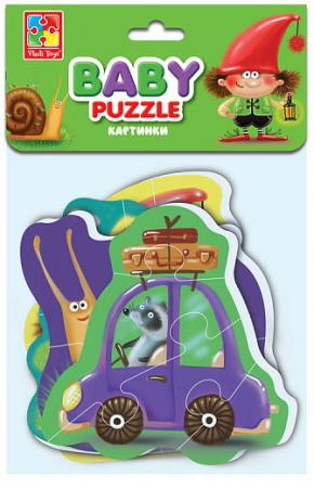 Мягкие пазлы Baby puzzle Картинки