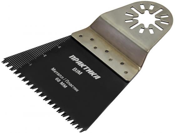 Насадка ПРАКТИКА 240-218  режущая прямая bim по металу и дереву 68мм мелкий зуб