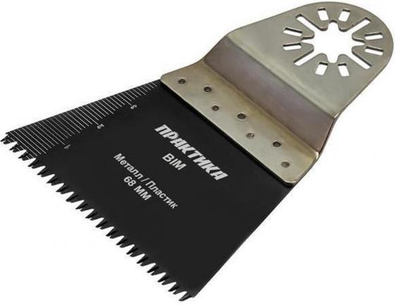 Насадка ПРАКТИКА 240-225  режущая прямая bim по металу и дереву 68мм крупный зуб