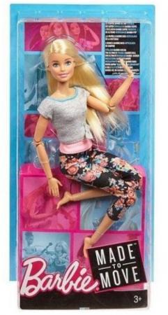 Кукла Barbie (Mattel) Кукла Barbie Безграничные движения шарнирная цена и фото