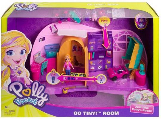 Игр. набор Polly Pocket Комната Полли Barbie (Mattel)
