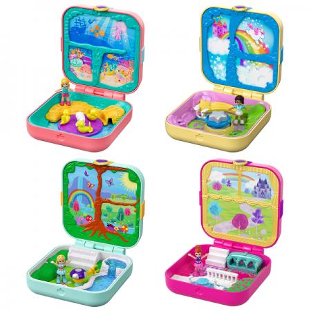 Игр. набор Polly Pocket Мини-мир в асс-те barbie мини набор для декора уборка
