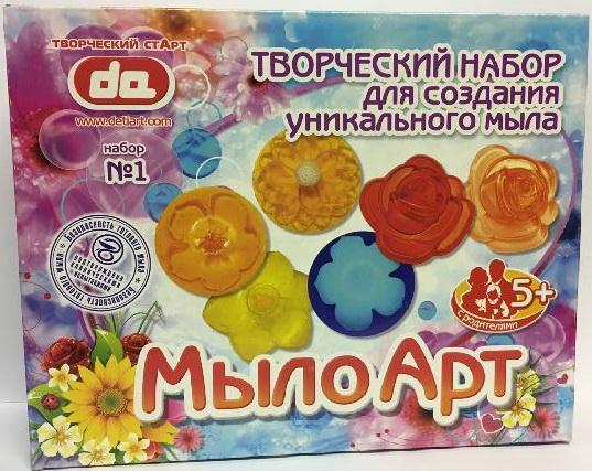 цена на Набор Мыло Арт Цветы