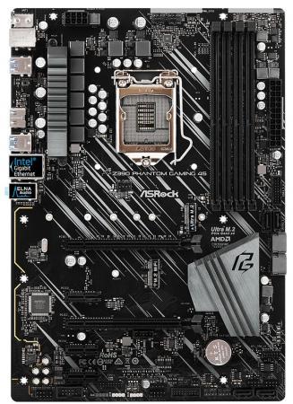 Материнская плата ASRock Z390 PHANTOM GAMING 4S Socket 1151 v2 Z390 4xDDR4 2xPCI-E 16x 3xPCI-E 1x 6 ATX Retail цена и фото