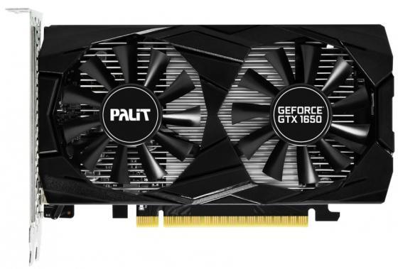Видеокарта Palit PCI-E PA-GTX1650 DUAL OC 4G nVidia GeForce GTX 1650 4096Mb 128bit GDDR5 1485/8000/HDMIx1/DPx2/HDCP Ret подставка д яйца lefard чешский гусь 5 6х6 6см керамика