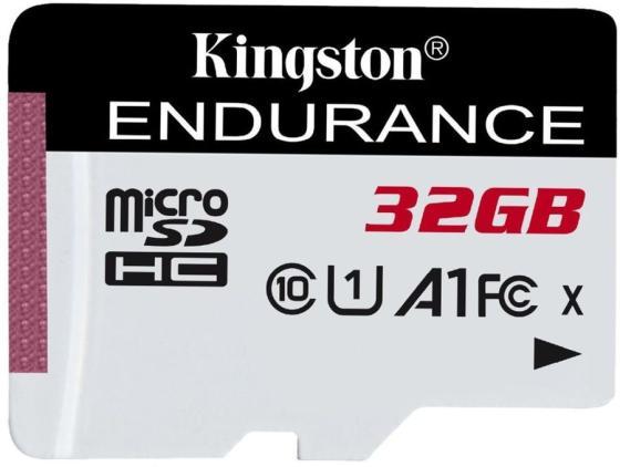 Флеш карта microSDHC 32Gb Class10 Kingston SDCE/32GB High Endurance w/o adapter kingston sdc10g2 32gb microsdhc 32gb class10