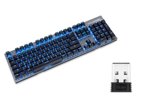Клавиатура беспроводная Motospeed GK89 USB белый
