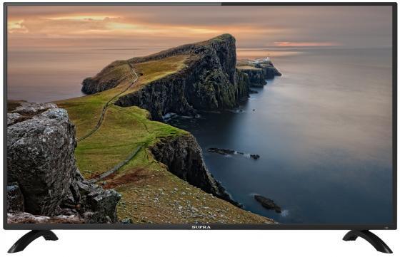 Телевизор ЖК 40'' Supra/ 40'' (102 см), LED, Full HD, 280 кд/м2, DVB-T2, CI+, USB, 3хHDMI, SCART, S/PDIF (COAX), VGA, телетекст, звук 2х8Вт, черный жк телевизор supra 24