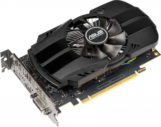 Купить Видеокарта ASUS GeForce GTX 1650 PH-GTX1650-O4G PCI-E 4096Mb GDDR5 128 Bit Retail 90YV0CV0-M0NA00