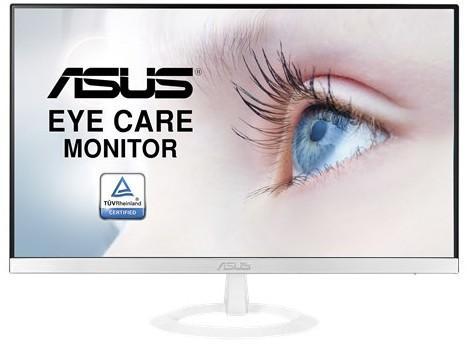 """ASUS VZ249HE-W 23.8"""" Wide LED IPS monitor, 16:9, Full HD 1920 x 1080, 5ms(GTG), 250 cd/m2 , 80 M:1, 178°(H), 178°(V), D-Sub, HDMI, Ultra-slim Design, Frameless, Flicker-free, Black"""