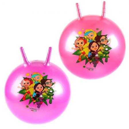 Мяч-попрыгун ИГРАЕМ ВМЕСТЕ Сказочный патруль ПВХ с рожками цвет в ассортименте