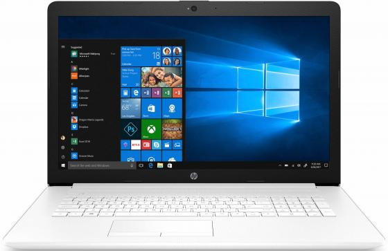 "HP17-ca1012ur 17.3""(1600x900)/AMD Ryzen 3 3200U(Ghz)/4096Mb/500Gb/DVDrw/Int:Radeon Vega 3/war 1y/Snow White Mesh Knit/W10 цена и фото"