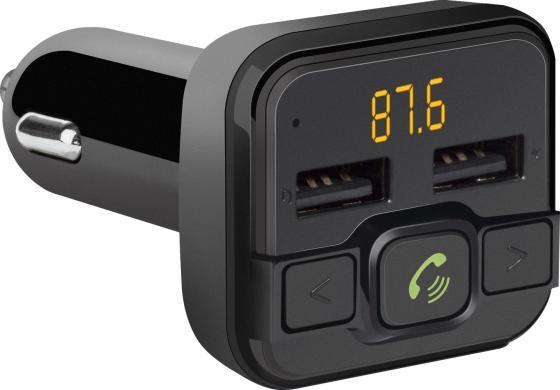 Фото - Defender FM-трансмиттер RT-Edge BT/HF, USB 2.4 A fm трансмиттер eplutus fb 08 bt