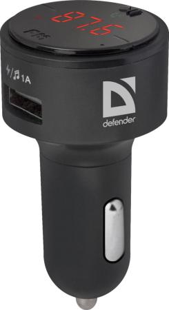 Defender FM-трансмиттер RT-Funk BT/HF, USB 2.1 A fm трансмиттер defender rt hit пульт ду 68010